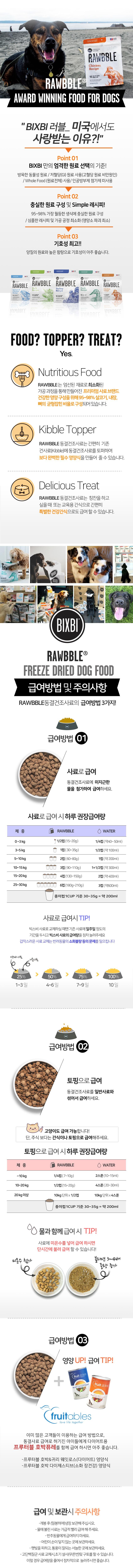빅스비 러블 동결건조사료 칠면조 (340g)-상품이미지-2
